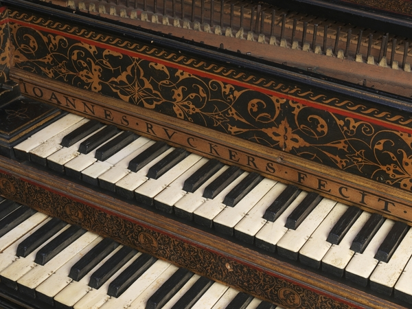 Slider harpsichord